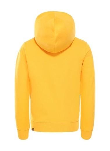 The North Face Drew Peak Pullover Hoodie Çocuk Sweatshirt Sarı Renkli